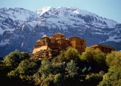 Kasbah du Toubkal from Imlil
