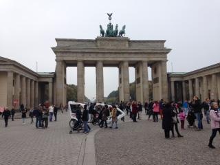 Das Brandenburger Tor+Quadriga