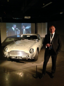 Bond in Motion Exhibition 2014