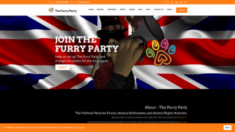 The Furry Party Website