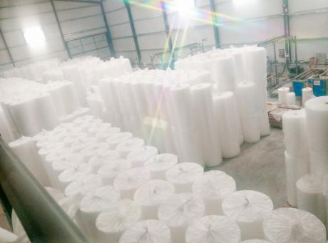 Stock de plástico de burbujas