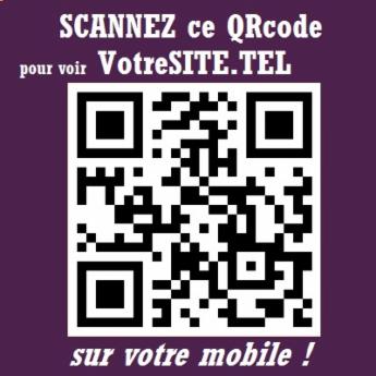 Ce Site .TEL sur votre Mobile