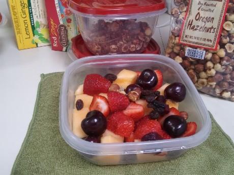Fruit bowl + Oregon Cherries