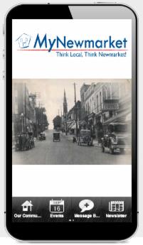 My Newmarket App