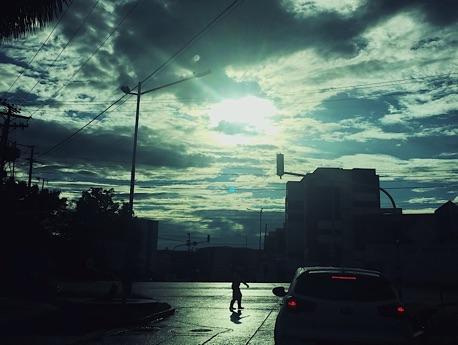 Sombras de un caminante