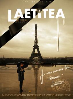 Laetitea in Paris for Le Deuil